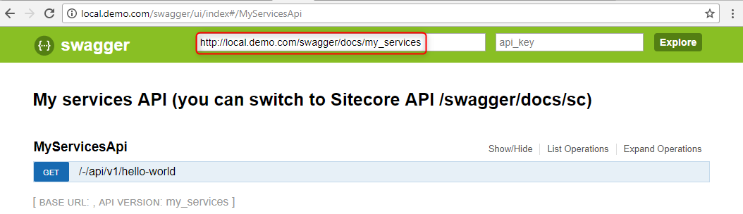 swagger-my-services