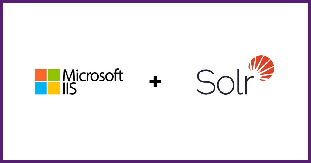 Solr and IIS